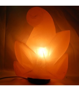 Lamp - Natural - polished salt Himalayan sheet