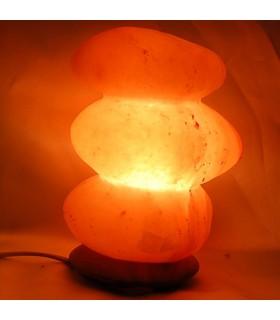 Pierres de lampe poli - naturel - sel Himalaya River - nouveauté