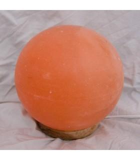 Lámpara Esfera de Sal Pulida - Natural - Himalaya - NOVEDAD