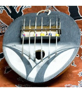 Kalimba - strumento africano - zucca - batte