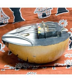 Kalimba - инструмент Африки - тыква - бьет