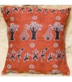 African Ethnic Cushion - 100% Cotton Fabric - Tribe Design