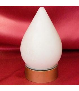 Goccia bianca sale dell'Himalaya - minerale naturale - base colore opzionale