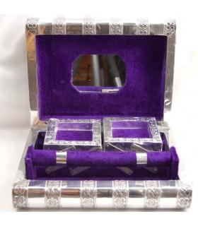 Alpaca Jewelry Chest - Extensible - Velvet Lined