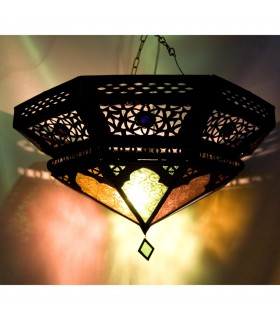 Draught - resins and glass ceiling - design Arabic - 2 colors