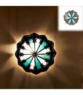 Plafón  Calado - Cristal y Resinas-Diseño Arabe - Varios Colores