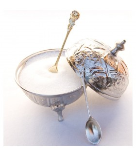 Teaspoon sugar - cast bronze or nickel - 10 cm