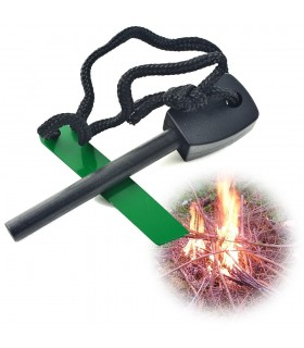 Encendedor Supervivencia Grande-Pedernal- Hacer Fuego Fácilmente