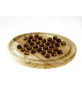 Madeira Solitaire - 2 Modelos - contas de madeira ou vidro