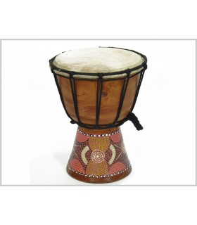Piccolo - djembe tamburo - incisione - artigiano