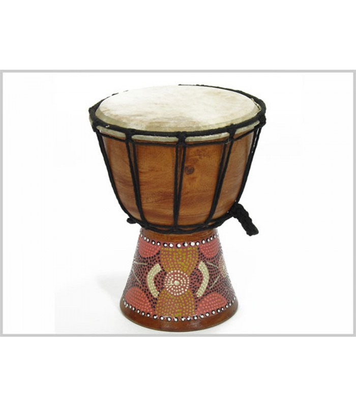Small Djembe- Drum - Engraving - Artisan