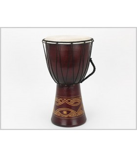Big Djembe - drum - engraving - craftsman - 40 cm