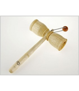Instrument Hammer Holz - musikalische Ball - 17 x 11 cm