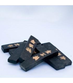 Tinta China - Schrift im Papier - Format bar