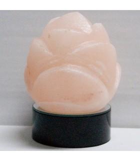 Rosa Sal Himalaya Naranja- Mineral Natural - Base Color Opcional