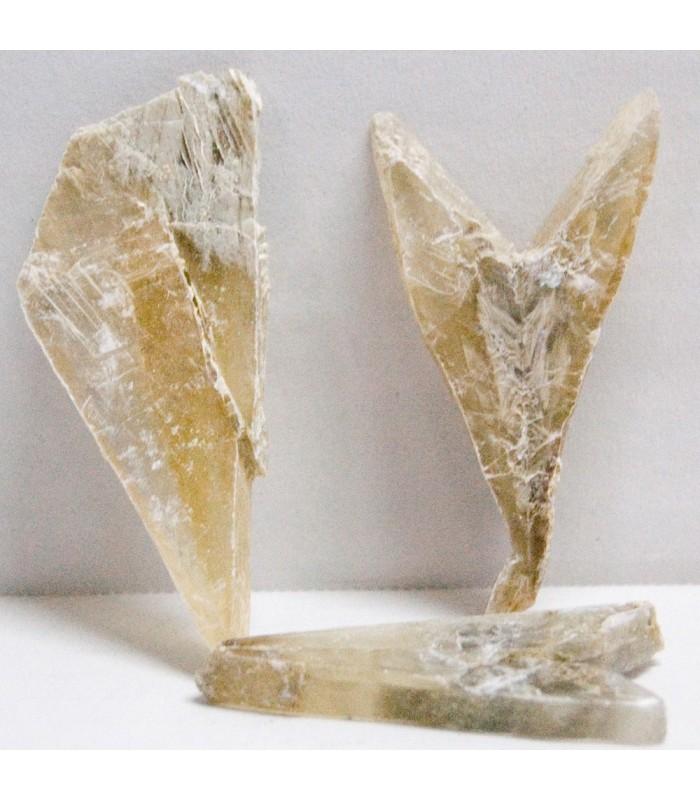 Punta de Yeso - Mineral Natural - 5 cm