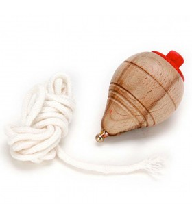 Filatura legno - stringa - gioco classico bambini