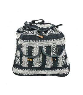 White e Black Backpack - Tapeçaria - Projeto Ethnic