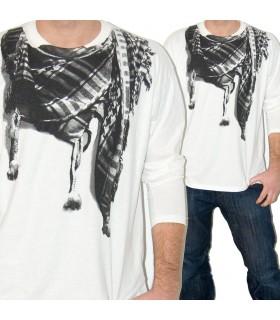 Camicia palestinese - cotone - serigrafia - novità