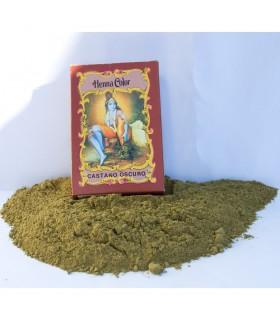 Henna natürlicher Farbstoff Haar - dunkel braun - Radhe Shyam - 100 gr