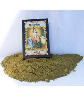 Хна-натуральный краситель волос - черный - Радхе Шьям - 100 гр