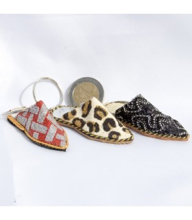 Slipper Keyrings Arabic of luck - NEW