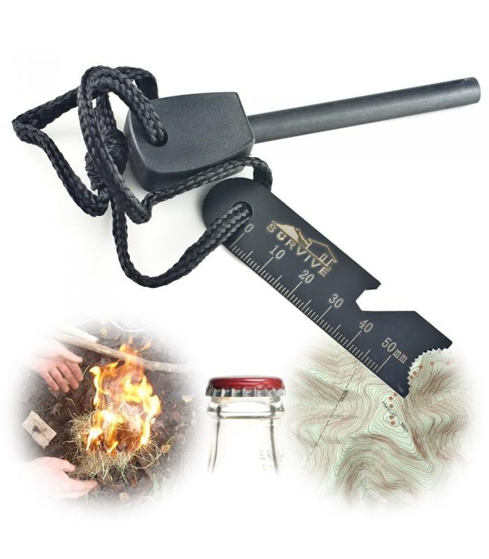 Survival Lighter Big- Flint - Easily Make Fire - Accessories