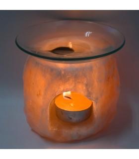 Ouverture de brûleur parfums - Frontal-naturel - Himalaya - nouveauté