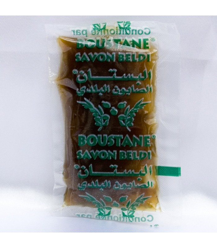 "Organic soap ""Beldi"" - Ideal Arabic Hamman - Over 30 gr - 1 use"
