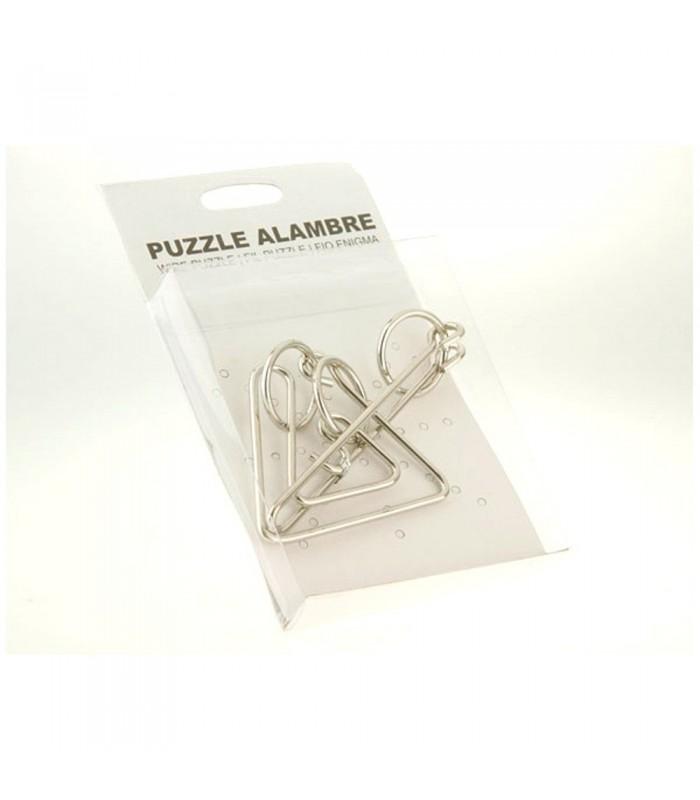 Juegos Ingenio Triángulo- Cajita - Varios Modelos - Rompecabezas