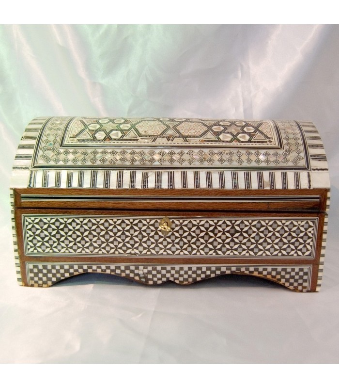 Jeweler Chest - Velvet - inlaid Egypt - Grande