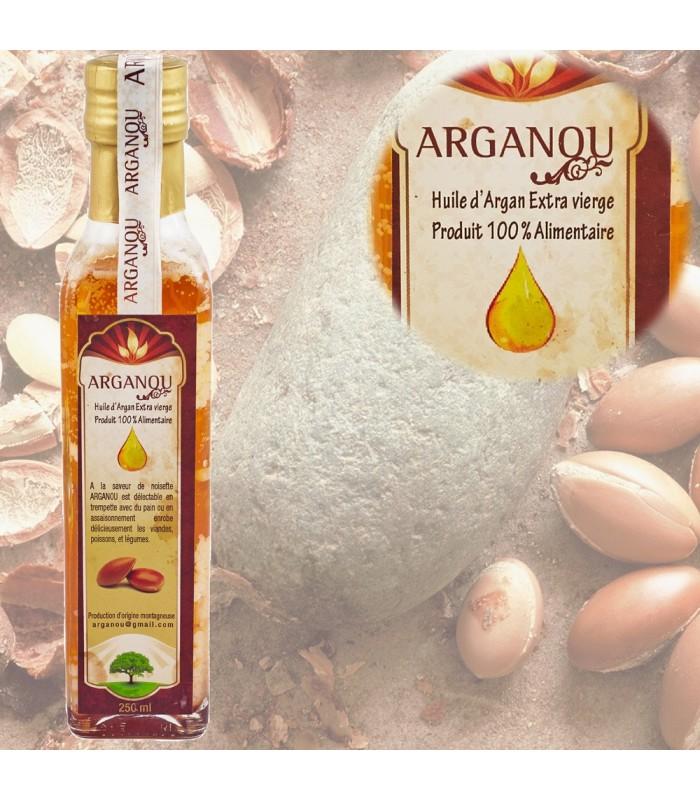 Aceite Argán Comestible - 250 ml- 1ª Calidad - Ecológico