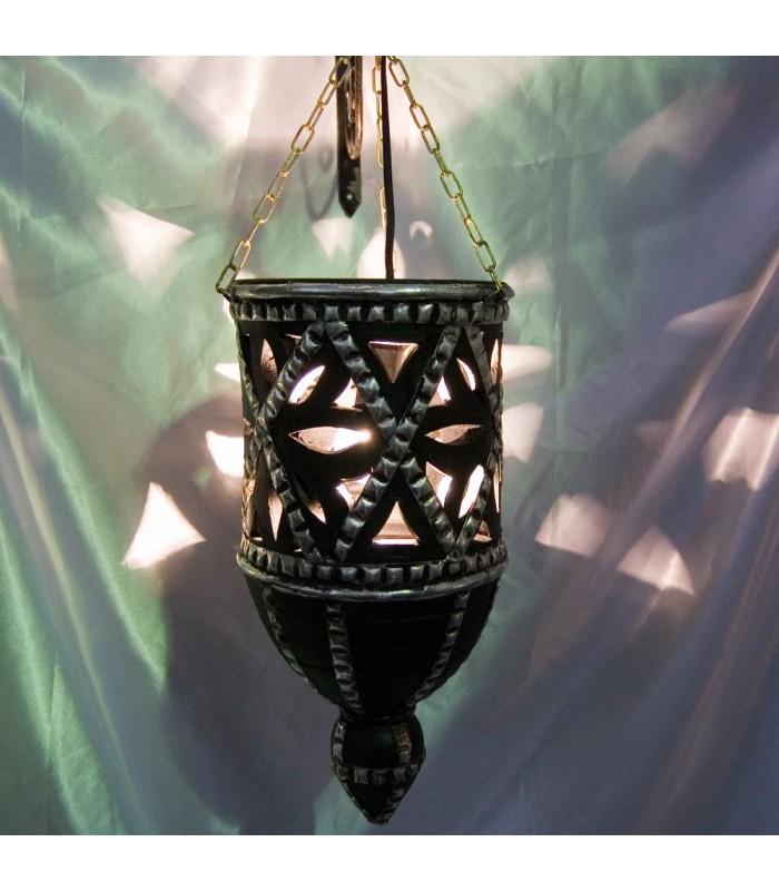Mud Hollow Lamp - Alpaca - Arab Design - 40 cm