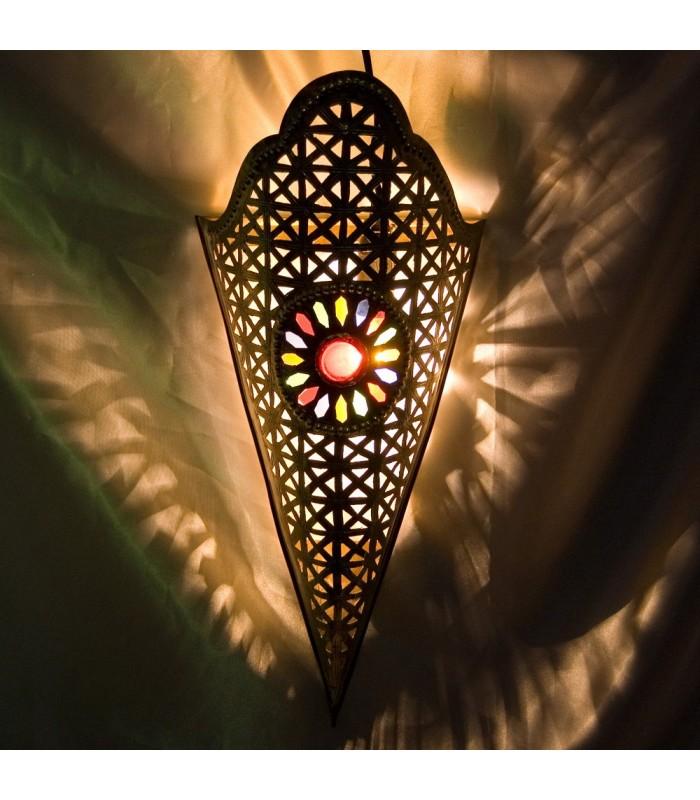 Aplique Dorado Bronce - Diseño Estrella-Resina Colores-2 Tamaños