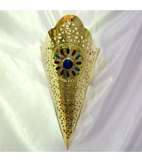 Appliquer en bronze doré-Résine Étoile-Design Couleurs-2 Tailles
