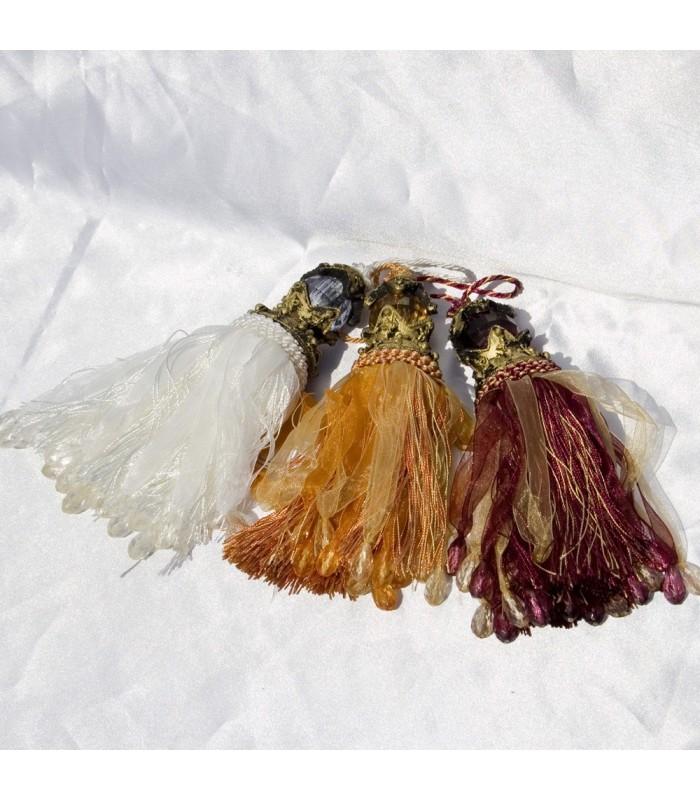 Decora Cortinas - Pareja - Resina Colores - Varios Colores -20cm