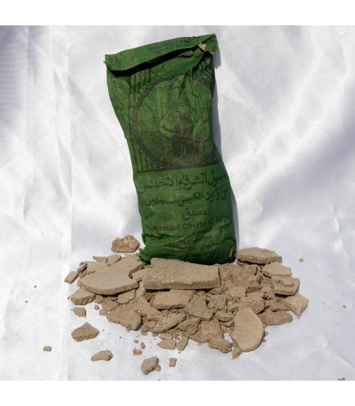 Gasul-Jabón Natural-Cuerpo y Cabeza - Arcilloso-500 gr Ghassoul