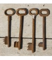 Key forging - 12 cm - several models