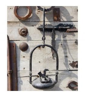Ferro battuto lampada olio Aladdin - artigiano - - 35 cm