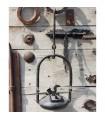 Candil Forja Aladino - Artesano - Aceite - 35 cm
