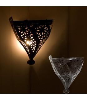 Profondità di muro di ferro - artigiano - arabo - disegno ovale