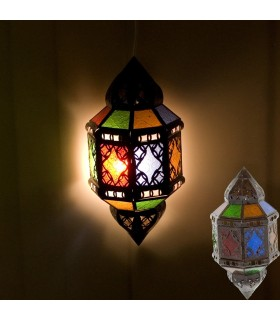 Applicare disegni alla spina - Multicolor - finestra di vetro