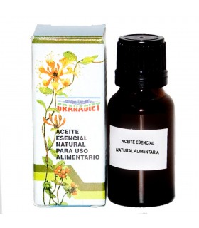 Oil essential geranium - food - 17 ml - Natural