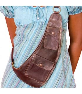 Ремесленник - несколько карманов - кожа сумка