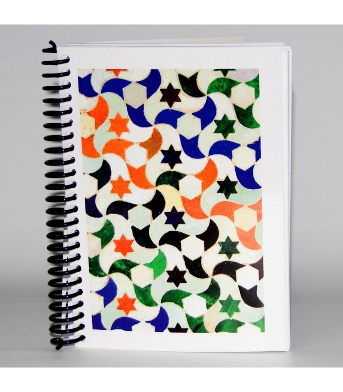 Libreta Diseño Mosaico 2- Souvenir Arabe - Tamaño A6 - 100 Hojas