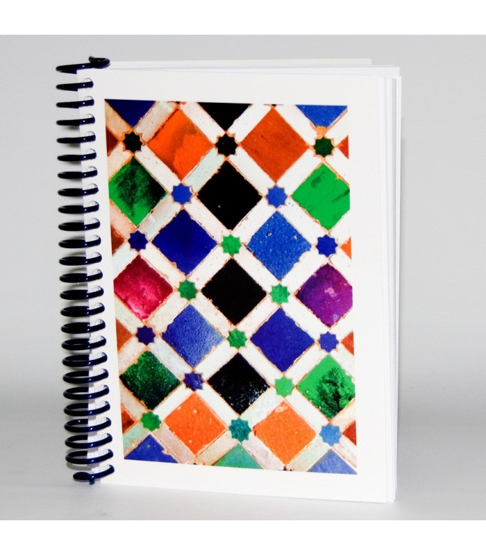 Libreta Diseño Mosaico 3- Souvenir Arabe - Tamaño A6 - 100 Hojas