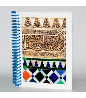 Árabes Souvenir Book Design Alhambra- Tamanho A6 - 100 folhas