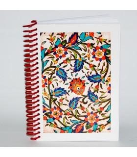 Árabes Souvenir Book Design Mosaico 4 - Tamanho A6 - 100 folhas
