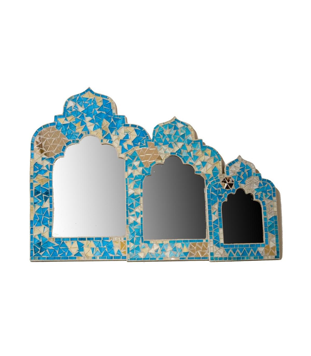 Il Mosaico E Gli Specchi 3.Specchio Mosaici Arabi Stile Andaluso E 2 Colori 3 Dimensioni
