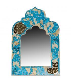 Specchio mosaici arabi - stile andaluso e 2 colori - 3 dimensioni-